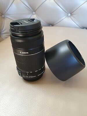 Canon 2044B002 EF-S 55-250mm F/4-5.6 II IS Lens- Unused condition