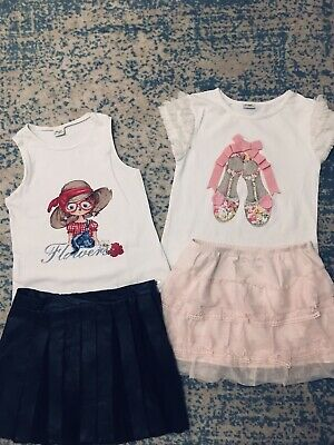 Mayoral Girls Summer Outfit Age 8-9 Years Good Con