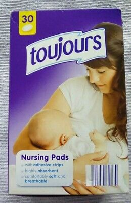 Disposable Nursing Pads x 30 Maternity Breastfeeding