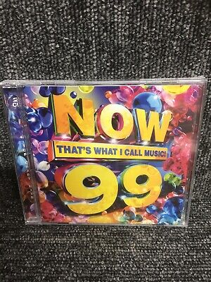 NOW Thats What I Call Music! 99 CD New & Sealed. Freepost In Uk. Cd Album