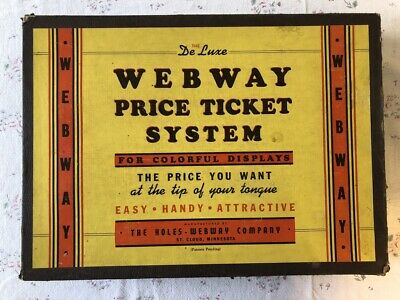 Vintage Grocery General Store Cost Price Ticket System Webway