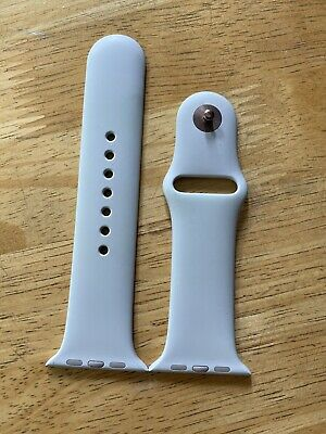 Authentic Genuine Apple Watch iWatch 44mm Stone Silicone Sport Band