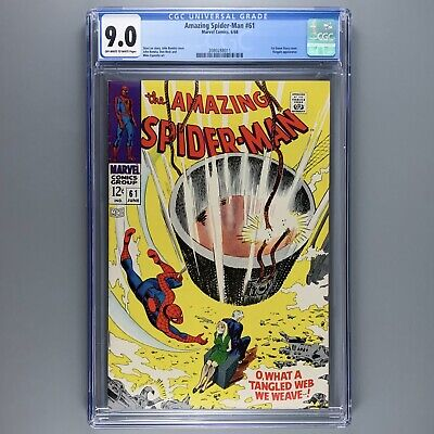 Amazing Spider-Man 61 (1963) CGC 9.0 First cover appearance of Gwen Stacy VF/NM