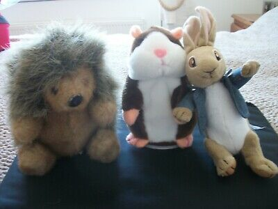 Cuddly Toys And Talking Hamster