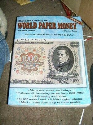 Standard Catalog of Paper Money, General Issues, Volume 2, 10th Edition