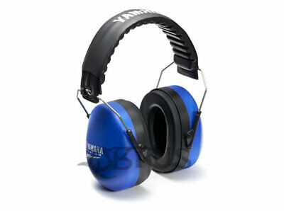 Genuine Yamaha 19 Adult Blue & Black Racing Noise Reduction Ear Protectors