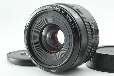 ***Mint*** Canon EF 35mm F/2 Wide Angle EF Mount Lens From Japan ##33
