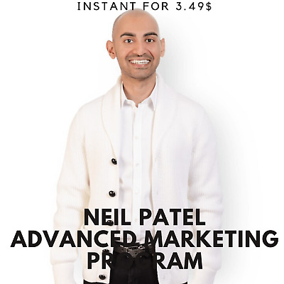 Neil Patel - Advanced Marketing Program Course |🧼Value $997