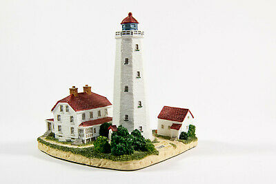 Leuchtturm SANDY HOOK LIGHT, New Jersey, # 418, Harbour Lights ™, Handarbeit