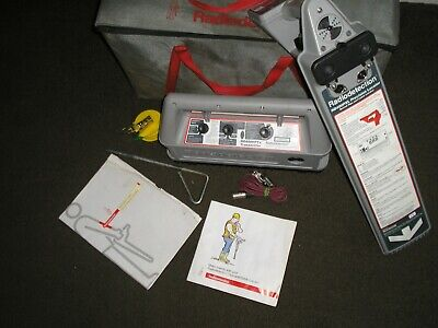 Radiodetection cat genny bag top spec RD400 & RD400  cablle locator detector 833
