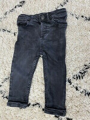 River Island Boys Black 'Sid' Skinney Jeans 12-18 Months.