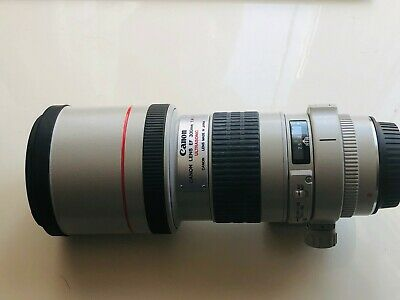 Canon EF 300mm F/4 L Ultrasonic with Lens Case LH-D26 Brand New £1 NO RESERVE!