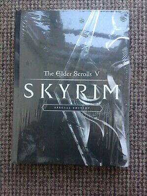 Skyrim Special Edition Official Hardback Game Guide Book-Sealed