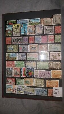 British Commonwealth Sorter  Selection Interesting Lot  Of Used Stamps (Bc012))