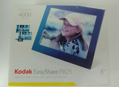 "Kodak EasyShare P825 8"" Digital Photo Frame New Open Box"