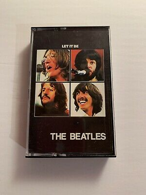 The Beatles Let It Be Cassette Tape - CAPITOL Records- Preowned- Tested
