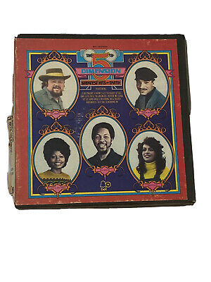 """5th Dimension Greatest Hits Reel To Reel Tape 4 Track 7"""" 3 1/2 IPS Vintage Audio"""