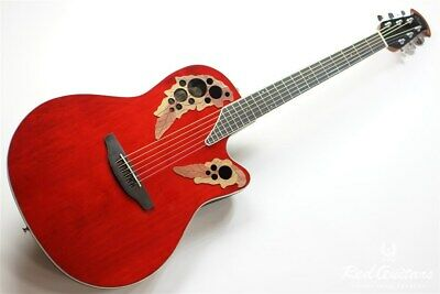 New Ovation Ce48-Ruby Red *Jwf910