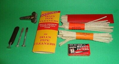 Vintage Lot of Tobacco Pipe Smoking Related Accessories