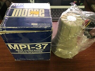 Moose Security MPI-37 - Self Contained Siren/Speaker