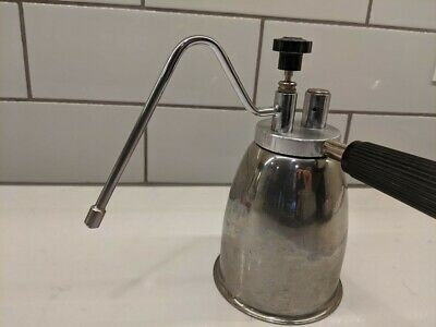 Italian Vesubio Stove Top Cappuccino Milk Steamer Frother Stainless
