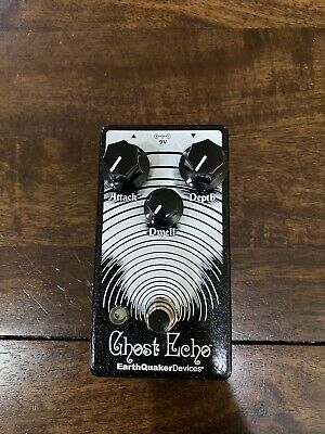 EarthQuaker Devices Ghost Echo Vintage Voiced Reverb Guitar Bass Effect Pedal
