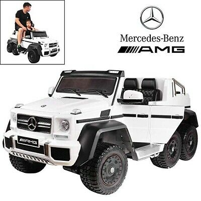 Touch TV Mercedes 6x6 Licensed 24V Kids Parent Ride-On Car Remote Control Power