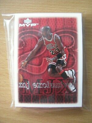 1999 Upper Deck MVP Michael Jordan MJ EXCLUSIVES Complete 30-Card Set +2 bonus!