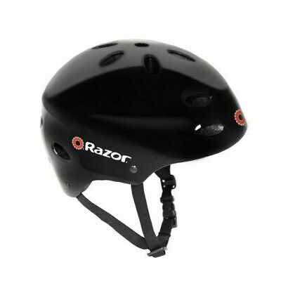 Razor® V-17 Youth Multi-Sport Helmet, Gloss Black New/Old Stock Without Tags/Box