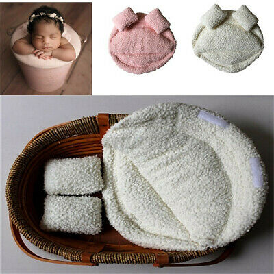Newborn Baby Photography Props Posing Pillow Basket Filler Photo Backdrop Gift