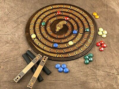 Ancient Egyptian Mehen Game! Beautiful and ANCIENT Game of Egypt! Great Gift!