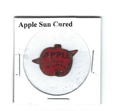 Apple Sun Cured Chewing Tobacco Tag A303