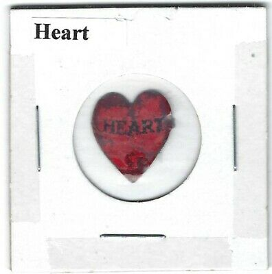 Heart Chewing Tobacco Tag