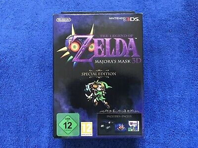 Nintendo 3DS - The Legend Of Zelda - Majora's Mask Collector - Neuf