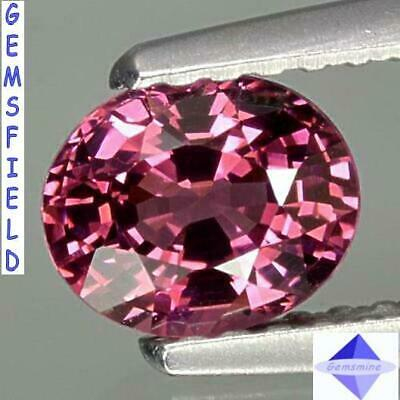 IF - 0.93ct !!! RHODOLITE de NAMIBIE !!! lumineux rose rouge !!! poli AAA++ !!!