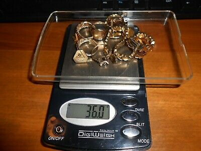 Solid 10Kt Gold Jewelry 36 Grams For Scrap Or Wear