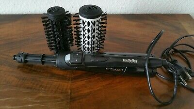 BaByliss Brushing 800 Black AS551E Rotierende Warmluftbürste Brush & Style Ionic