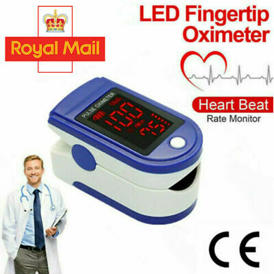 Fingertip pulse SpO2 Oximeter Heart Rate Blood Oxygen Saturation Monitor Display
