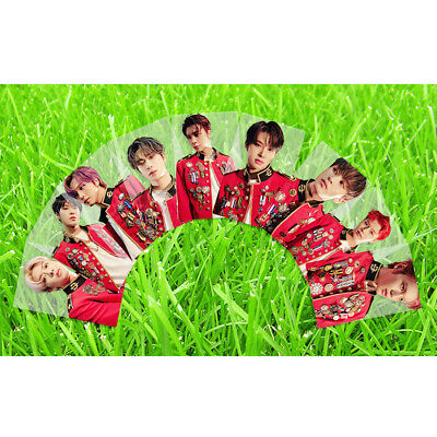 Kpop NCT127 Neo Zone:The Final Round PVC Clear Photo Card Collective Card Poster