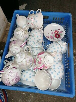 Tea Pots And Cup's And Saucers X thousands, Laura ashley, whittard, bone china