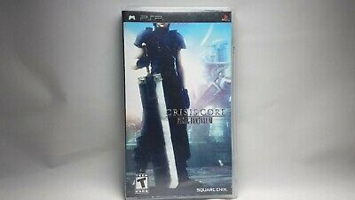 Crisis Core: Final Fantasy VII (Sony PSP, 2008) Complete CIB Tested Action RPG