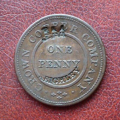 J.M,. Keighley c/mkd on 1811 Birmingham copper token