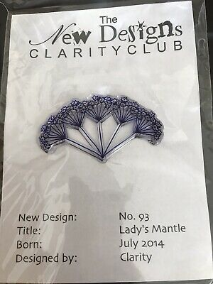 Clarity Club Clear Unmounted Stamp - Lafy's Mantle