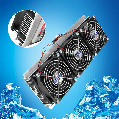 126W Semiconductor Refrigeration Kit DIY 15A Air Cooling Thermoelectric Peltier