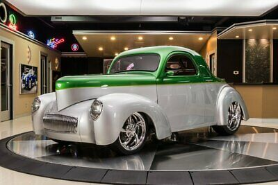1941 Willys Coupe Street Rod Willys Coupe! 454 LS6 Crate V8 w/ EFI, 700R4 Auto, FAB9, Dennis Taylor Body, A/C