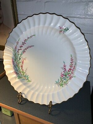 Vintage Royal Doulton Bell Heather 14 Inch Scalloped Serving Platter Rare!!!