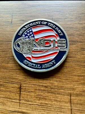 🔥🔥NCIS - Naval Criminal Investigative Service Special Agent Challenge Coin NEW