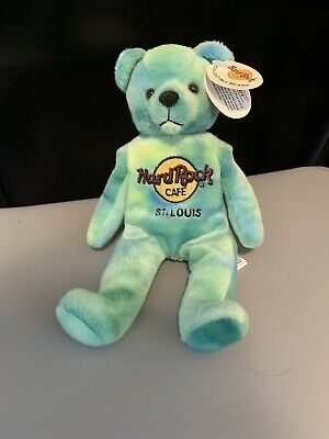 NWT Hard Rock Cafe Collectible Beanbag Bears: St. Louis