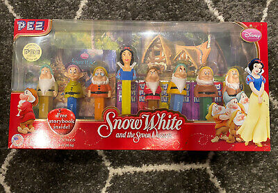 Pez Limited Edition - Snow White And The Seven Dwarfs - A Disney Collection Nib