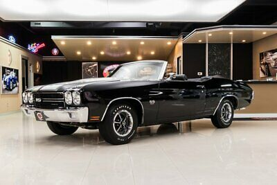 1970 Chevrolet Chevelle Convertible Frame Off, Rotisserie Restored! 454ci V8, Muncie 4-Speed, PS, PB, Cowl Induction